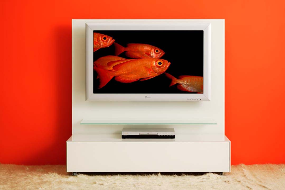 Tv rack mit rückwand  Hifi